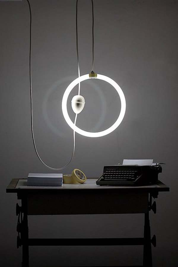 Iguazu design pendant lamps fluorescent 30 Creative and Versatile Pendant Lamps to Embellish your Rooms
