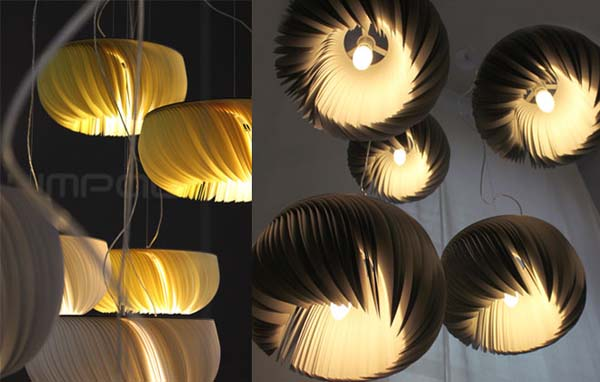 Moonjelly pendant light 30 Creative and Versatile Pendant Lamps to Embellish your Rooms