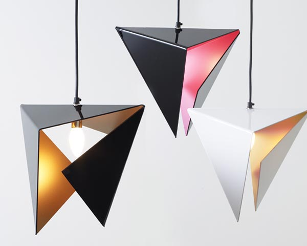 Stealth pendant light 30 Creative and Versatile Pendant Lamps to Embellish your Rooms