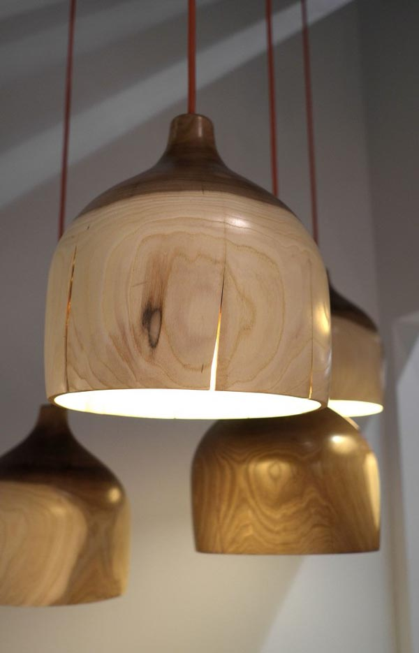 cracked bowl pendant light 30 Creative and Versatile Pendant Lamps to Embellish your Rooms