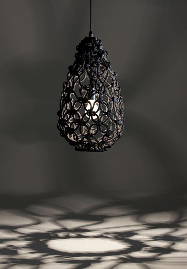 knotted egg light 30 Creative and Versatile Pendant Lamps to Embellish your Rooms