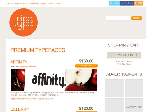 ripetype 500x386 40 Quality Websites with Circular Logos