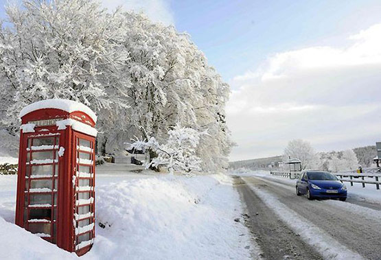 05 of 25, Attractive Snow Pictures of UK 2010