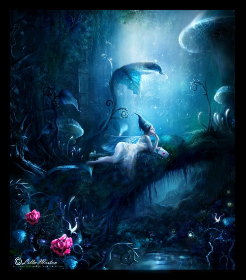 Dreaming of Love by Lillucyka1 500x569 50 Stunning Examples of Photo Manipulation