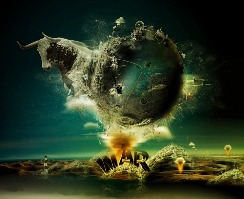 WE  RE AT WAR II by Destin8x1 500x408 50 Stunning Examples of Photo Manipulation