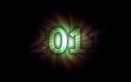2011 wallpaper 2 40+ High Quality Colorful 2011 New Year Wallpapers