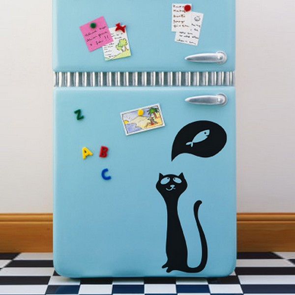 cats wallpaperFreshome02 Funny Vinyl Stickers for Crazy Cat Lovers