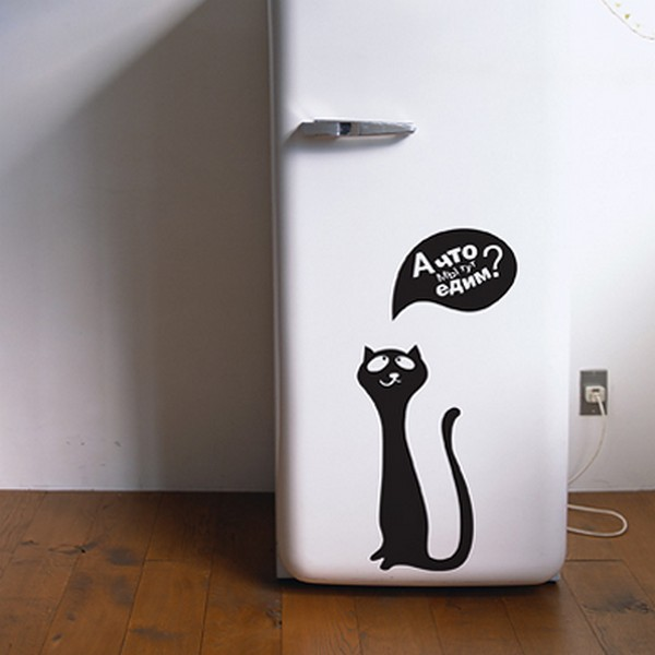 cats wallpaperFreshome12 Funny Vinyl Stickers for Crazy Cat Lovers