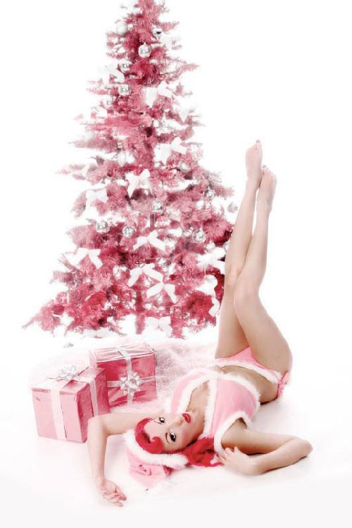 christmas pin up 40 Christmas Pictures To Get You into The Holiday Spirit