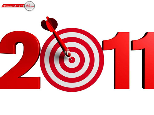 darts target 2011 wallpaper 40+ High Quality Colorful 2011 New Year Wallpapers