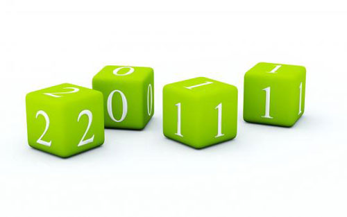 green blocks 2011 wallpaper 40+ High Quality Colorful 2011 New Year Wallpapers