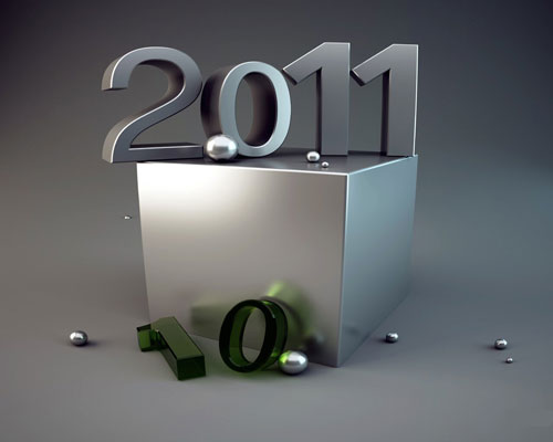 happy new year 2011 05 40+ High Quality Colorful 2011 New Year Wallpapers