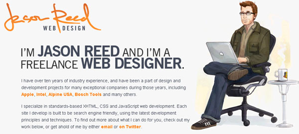 nice character illustration for website pages