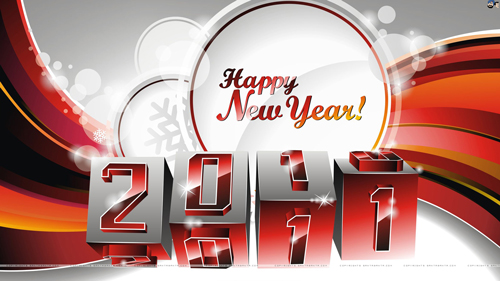 new year 2011 counter wallpaper 40+ High Quality Colorful 2011 New Year Wallpapers