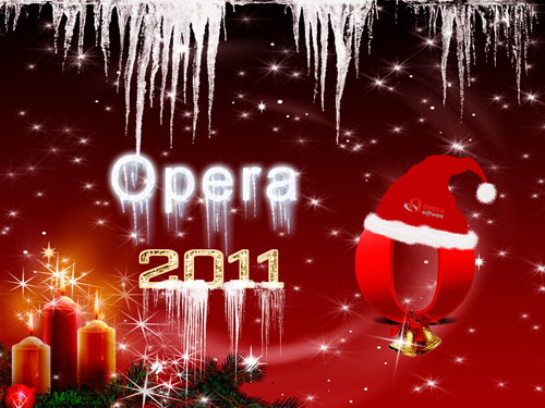 opera 2011 wallpaper 40+ High Quality Colorful 2011 New Year Wallpapers
