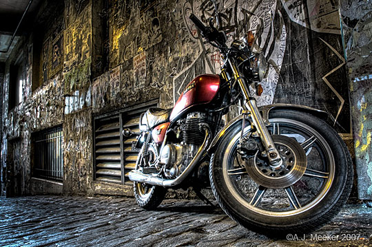Motorcycle HDR