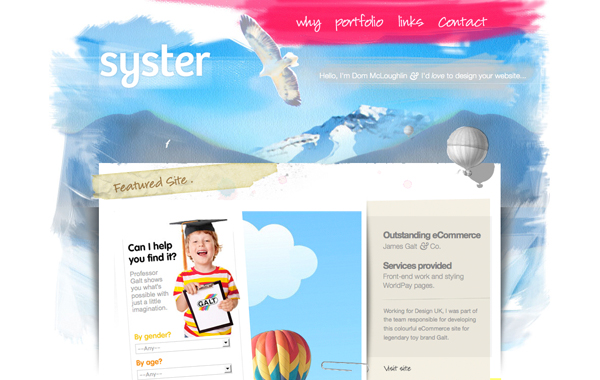 Syster User Experience Design