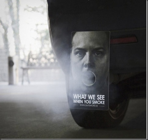 4373562322 0c3d771f581 40 Incredibly Creative Anti Smoking Advertisements
