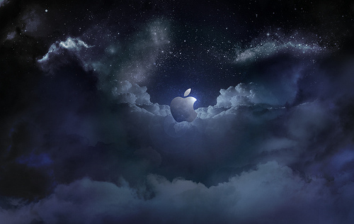 Midnight Apple Wallpaper