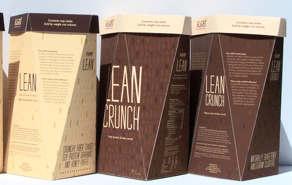 Kashi Lean Cereal Line Packaging Design by Patrick McKeever