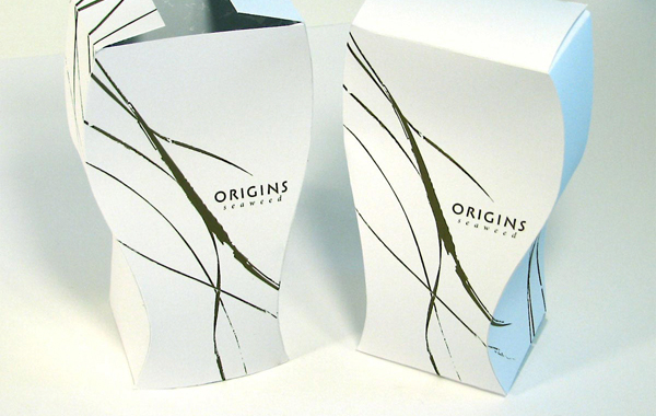 Origins: Bag and Box Packaging Design