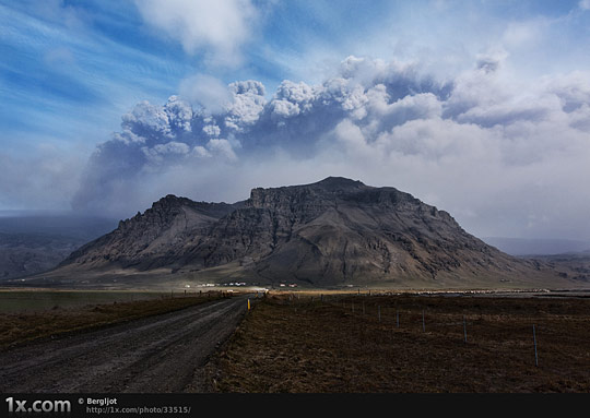 Living under the volcano
