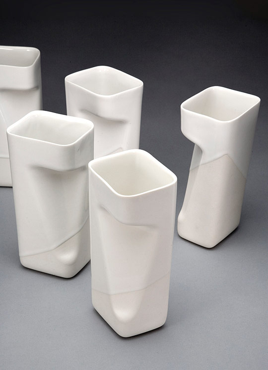 The Industrial Hand: Tableware Design