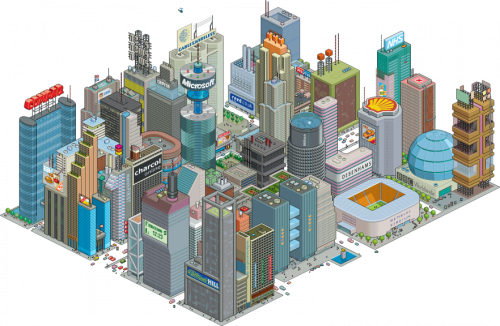 attenda grid 562 882x576 500x326 30 Dazzling Examples of Pixel Art by Eboy