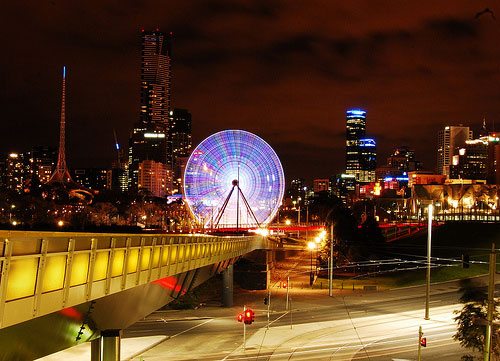 night time in the city1 20 Stunning Cityscape Nighttime Photographs
