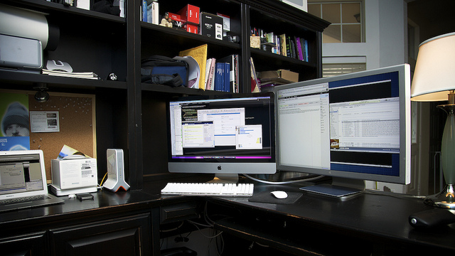 Home office, 4/2011