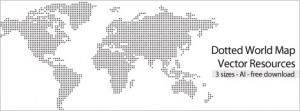 Vector World Dotted Map