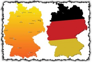 Vector Germany Map