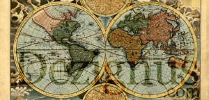 Vector Old World Map