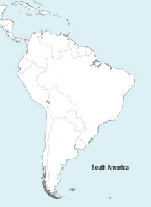 Vector South America Map