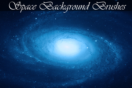 Space background brushes