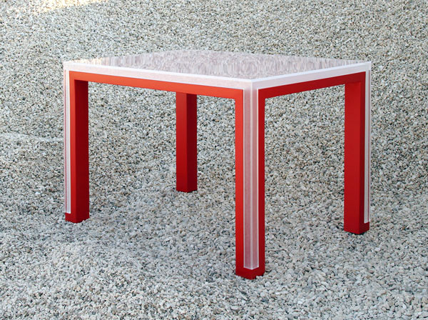 tABLE Versatility shaped by distinct pieces: TAble by Elda Bellone