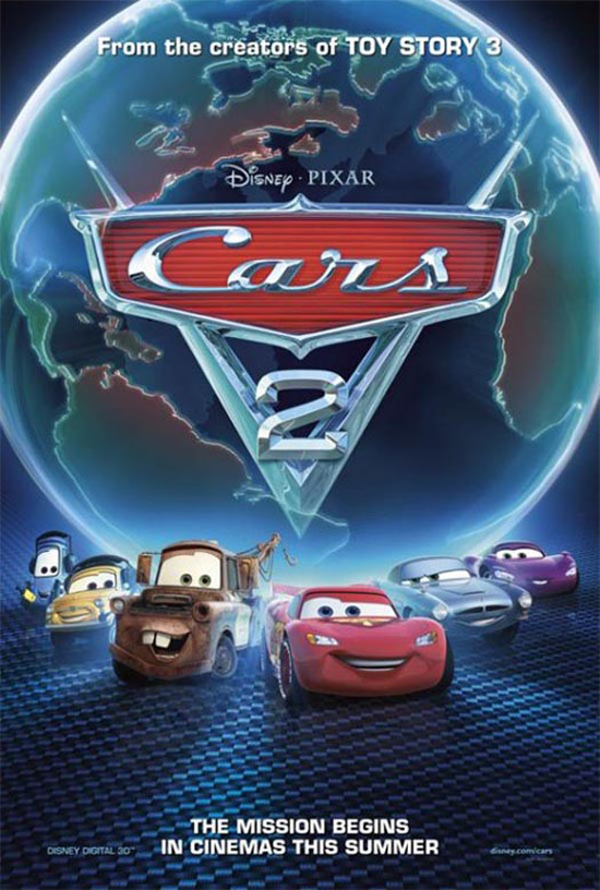 Cars 2 Movie Poster 50+ Striking Posters of Animated Movies