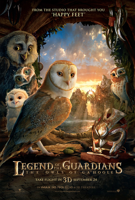Legend of the Guardians Owls of Gahoole 50+ Striking Posters of Animated Movies