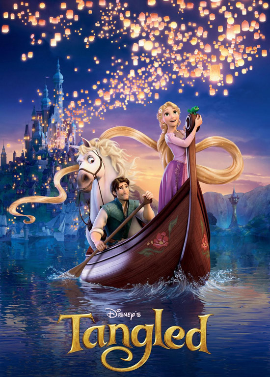 Tangled 50+ Striking Posters of Animated Movies
