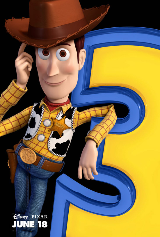 Toy Story 3 Woody Movie Poster 50+ Striking Posters of Animated Movies
