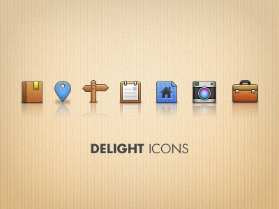 delight icons1 50 Jaw Dropping Freebies from the Dribbble Community