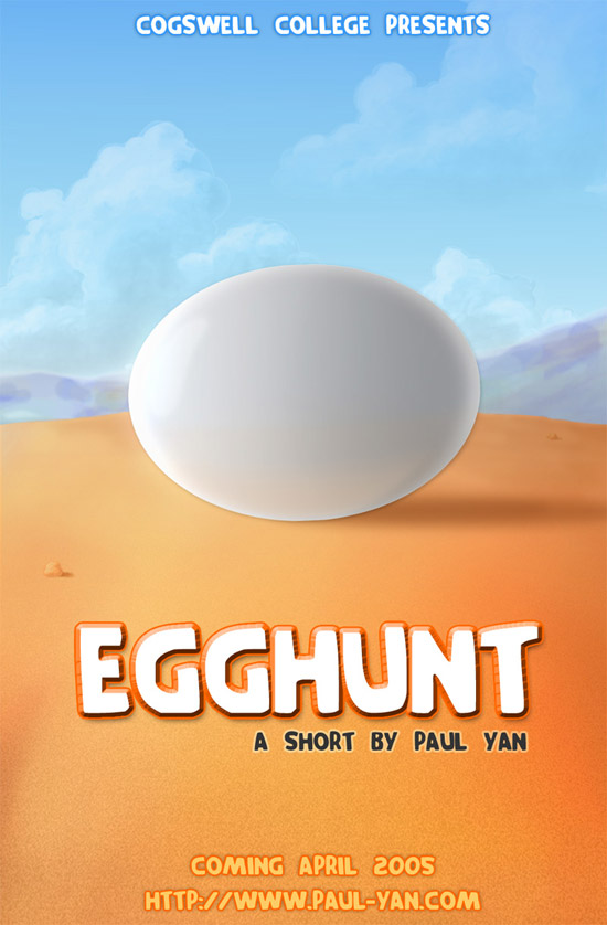 egg hunt movie poster 50+ Striking Posters of Animated Movies