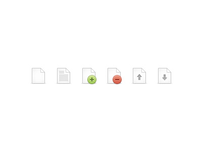 file icons1 50 Jaw Dropping Freebies from the Dribbble Community