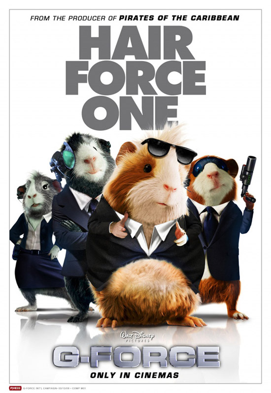 g force movie poster 50+ Striking Posters of Animated Movies