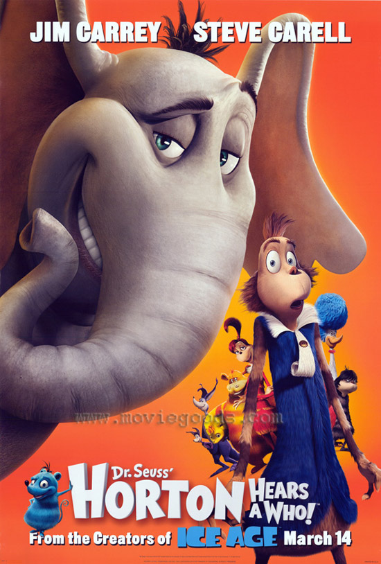 horton hears a who 50+ Striking Posters of Animated Movies
