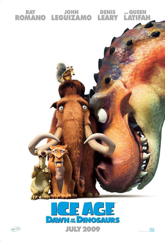 iceage3poster 50+ Striking Posters of Animated Movies