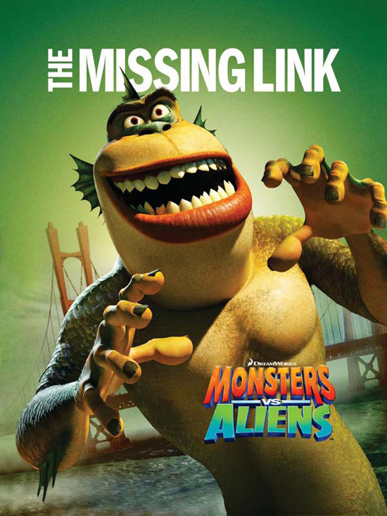 monsters vs aliens 6 50+ Striking Posters of Animated Movies