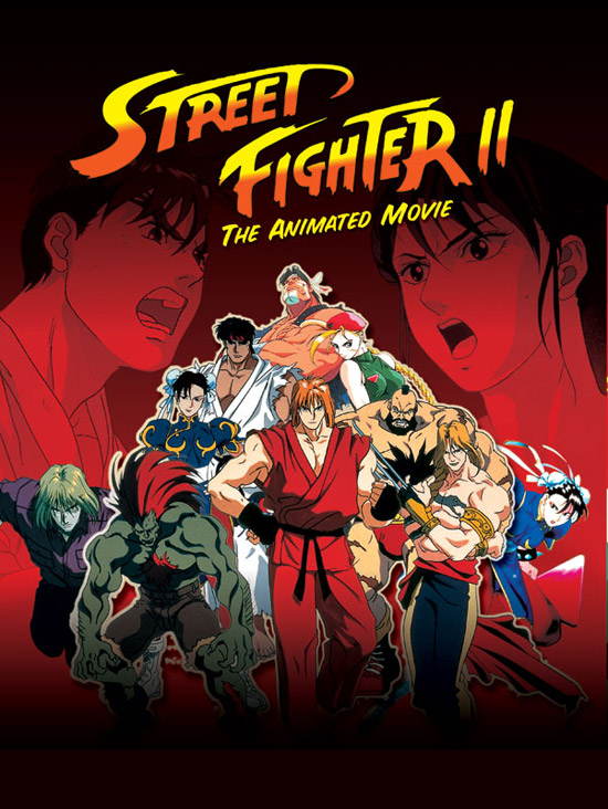 s fighter series 50+ Striking Posters of Animated Movies