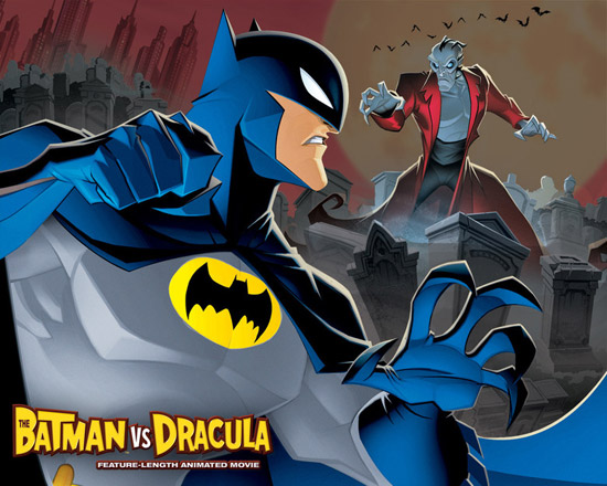 the batman vs dracula the animated 50+ Striking Posters of Animated Movies