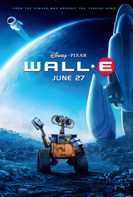 wall e pixar movie poster final onesheet 50+ Striking Posters of Animated Movies